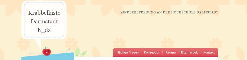 Bild Webseite Krabbelkiste