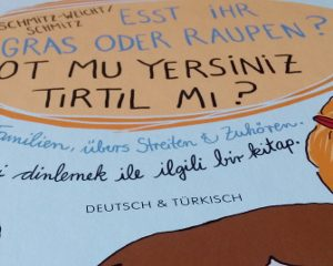 Bilderbuch: Esst ihr Gras oder Raupen?
