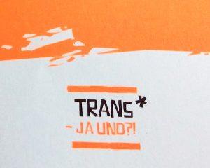 Broschüre Trans*jugendprojekt